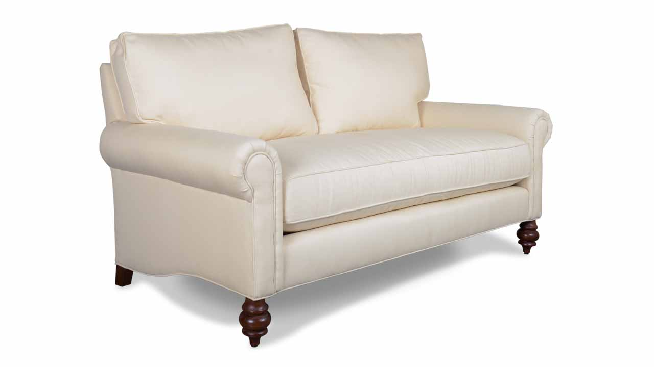 Dilworth Fabric Loveseat 68 Sailcloth Shell