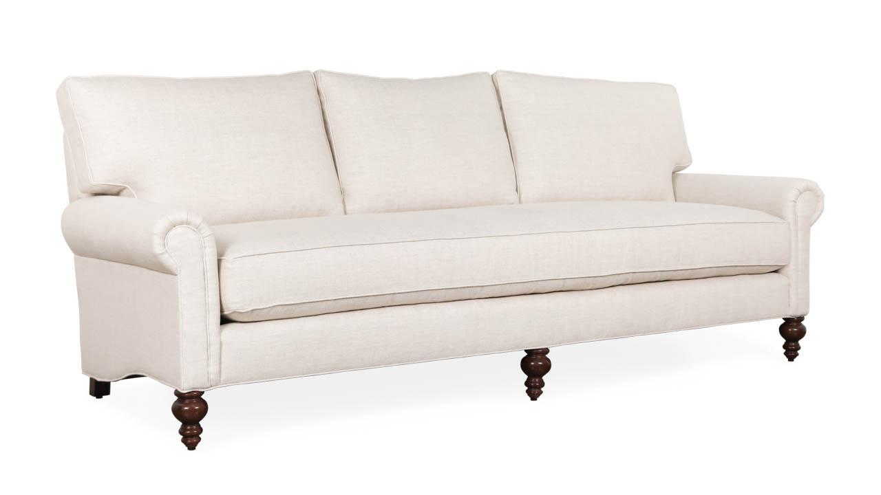 Dilworth Fabric Sofa 95 x 38 Wilde Ecru by COCOCO Home