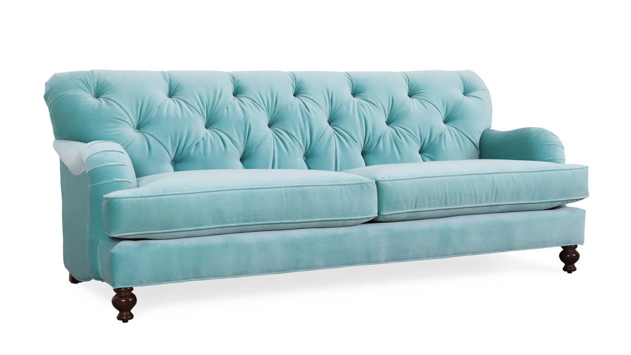 Eastover Fabric Sofa 84.5 x 38 Como Breeze by COCOCO Home