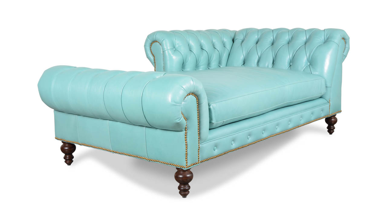 Chesterfield Leather Pippa Chaise Brighton Oceanic