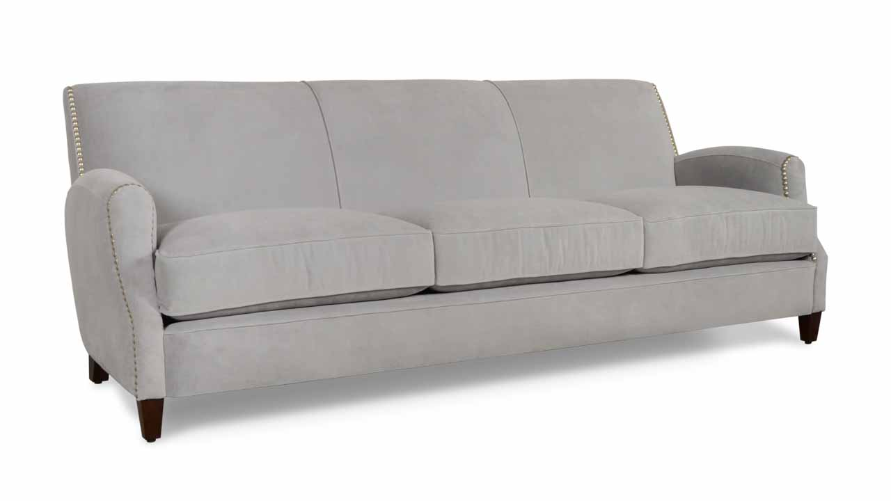 Metro Fabric Sofa 90 Cannes Cannon Grey