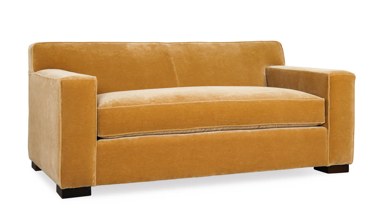 Boone Fabric Loveseat 69 x 38 Nevada Camel by COCOCO Home