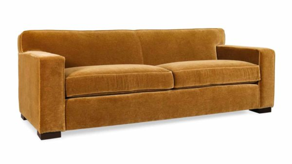 Boone Fabric Sofa, Nevada Brown Sugar, Mohair Velvet, Mohair Sofa, Cococo Home, Contemporary velvet sofa