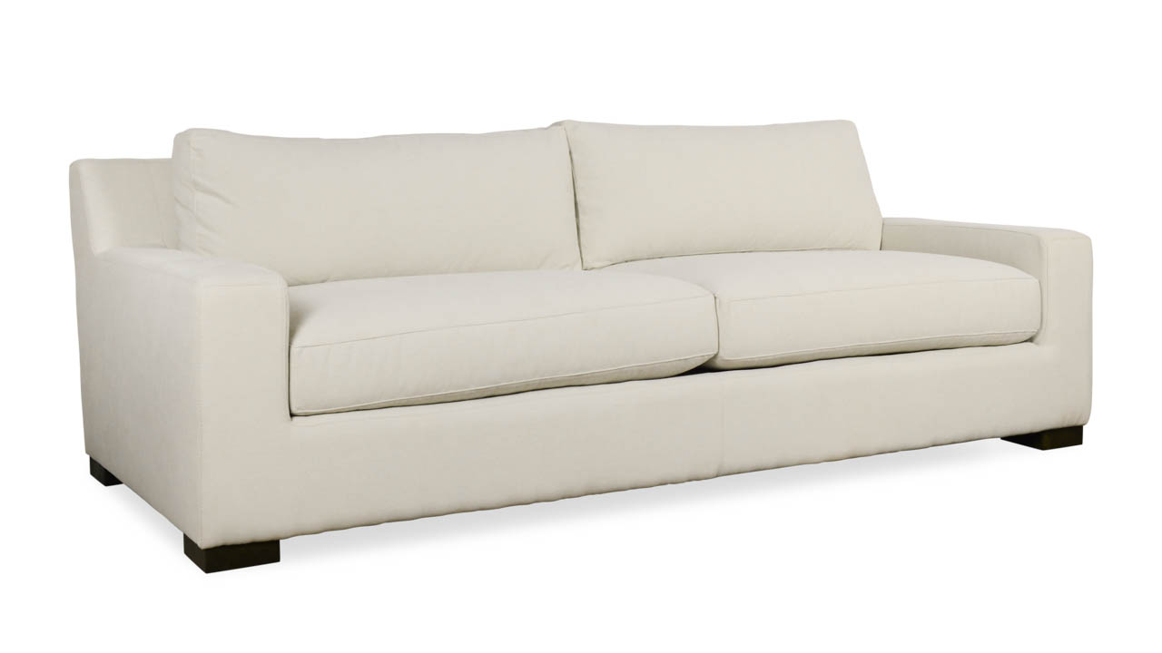 Cary Fabric Sofa 87 x 46 Varick Cloud by COCOCO Home