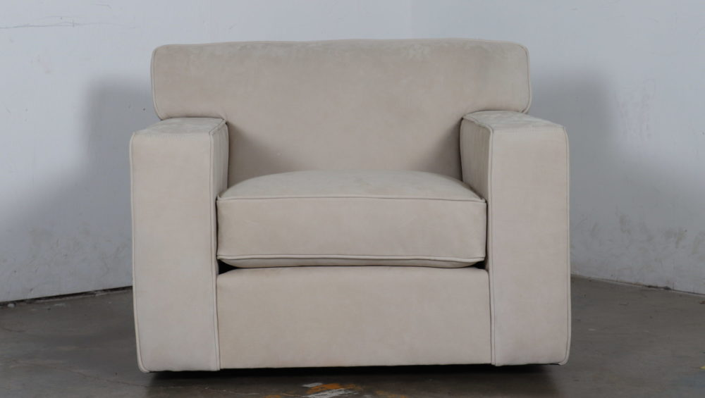 Moore and Giles, Cococo Home, Suede Chair, Cotswald Ivory