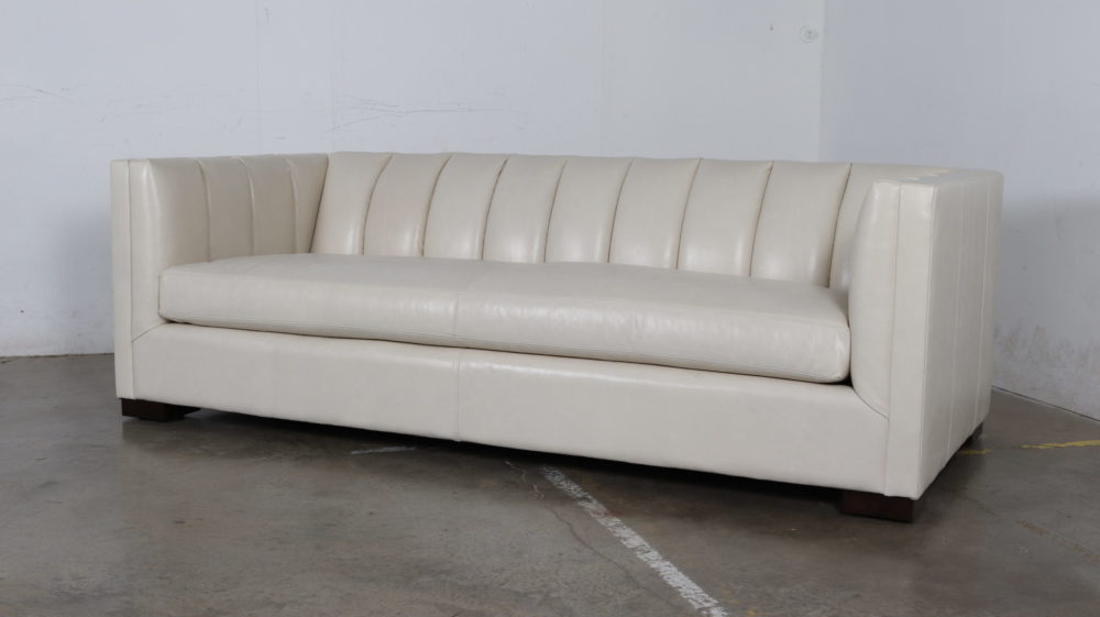 Moore and Giles, Cococo Home, Mont Blanc Ivory, Contemporary, Sofa, Bench Cushion