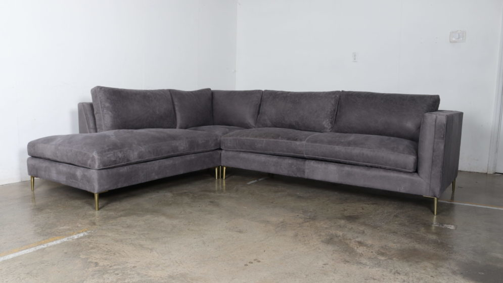 Moore and Giles, Cococo Home, Burnham Slate, Mid Century, Sofa, Modern, Sectional
