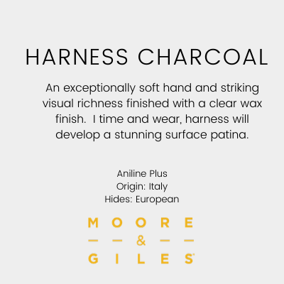 Moore & Giles Harness Charcoal