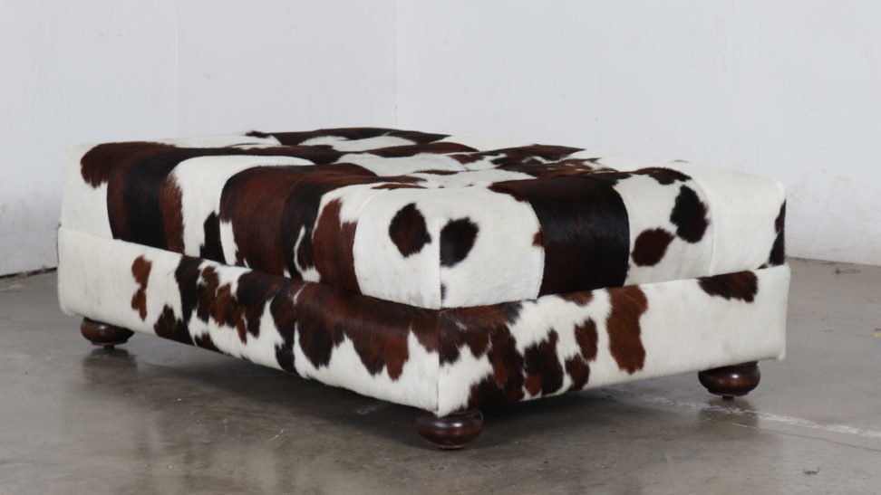 Hair on Hide, HOH, Cococo Home, Ottoman