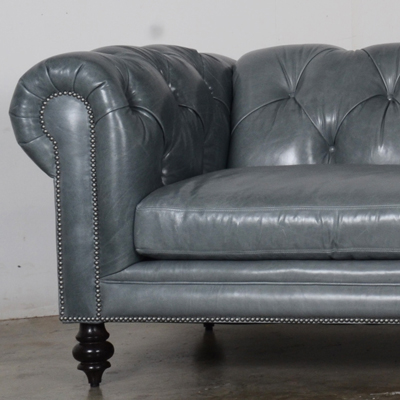 Soho Chesterfield 121 leather Mont Blanc Storm 6