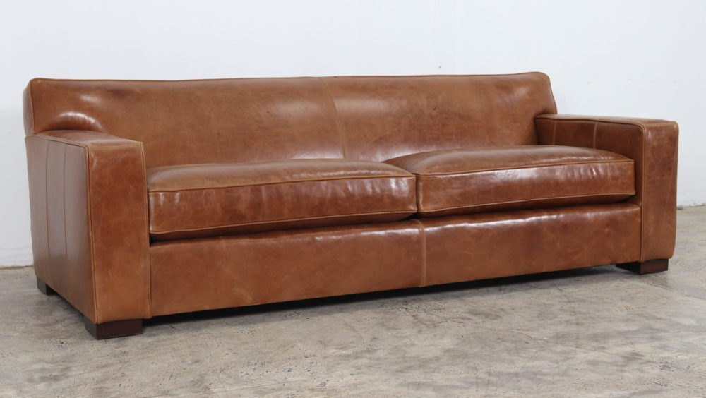 Moore and Giles, Boone Leather Sofa. Cococo Come, Modern Leather Sofa