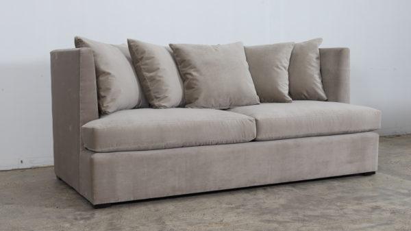 Cococo Home, Langston Sofa, Velvet Sofa, JB Martin, Como Asphalt