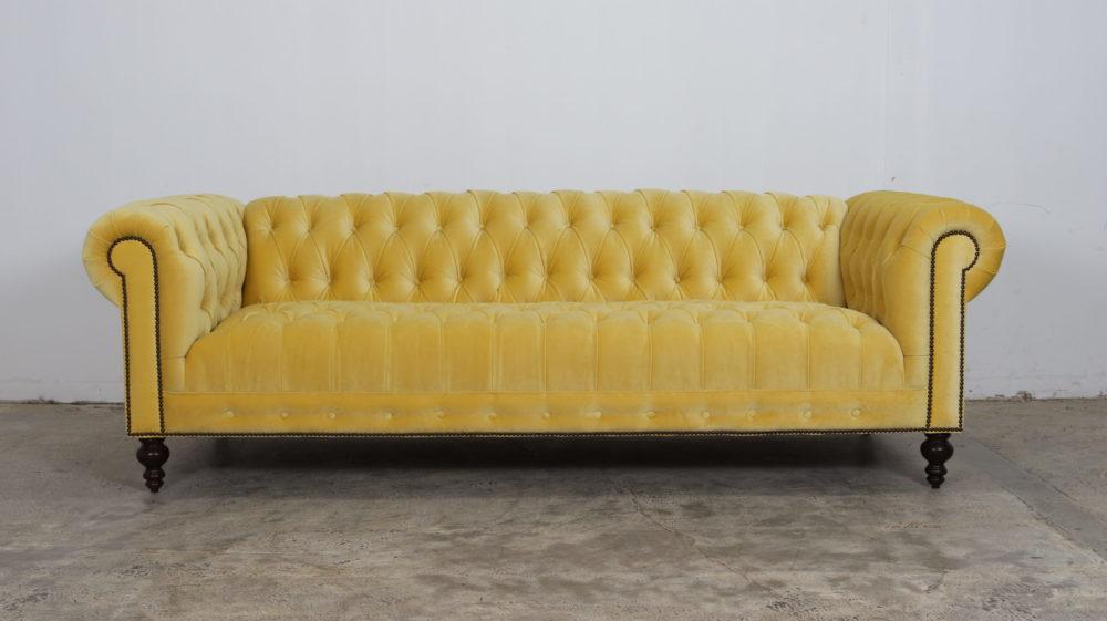 Cococo Home, Yellow Sofa, Chesterfield, JB Martin