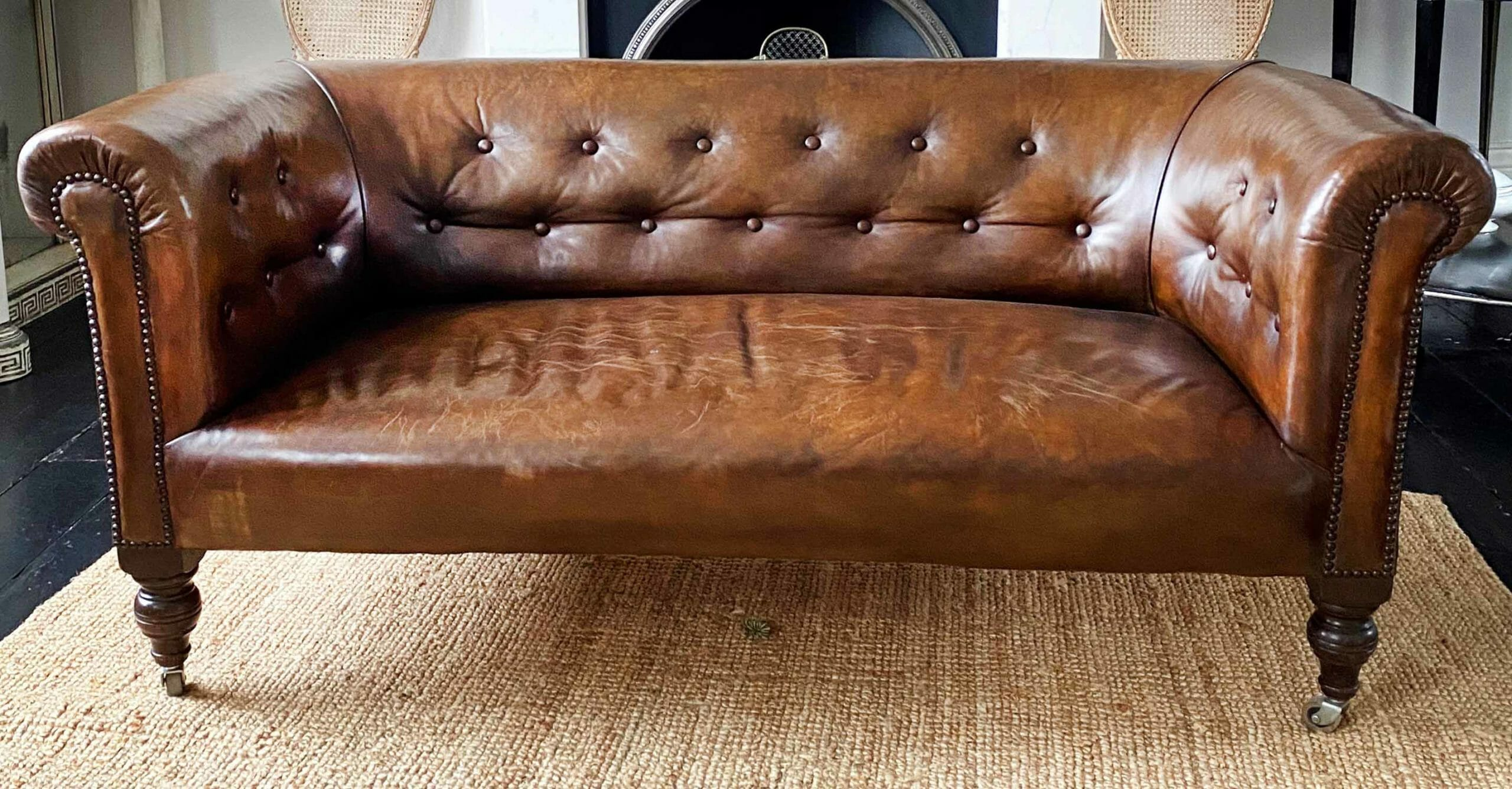 The history of a chesterfield